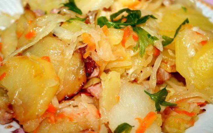что приготовить из капусты белокочанной на ужин
