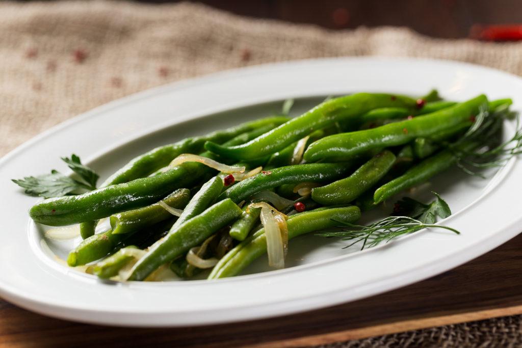 Вкусные рецепты приготовления стручковой фасоли на сковороде