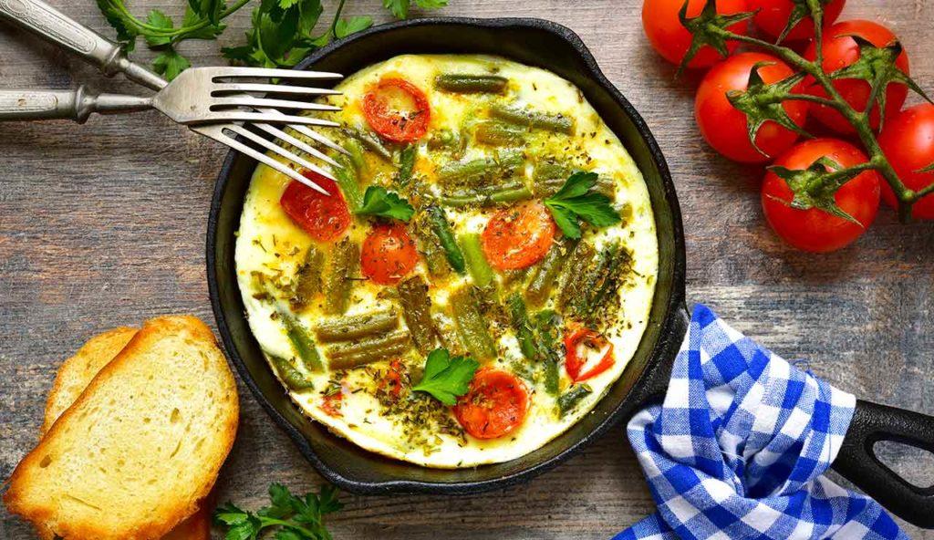 Вкусные рецепты стручковой фасоли с яйцом