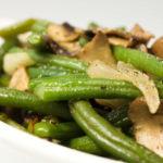 Вкусные рецепты стручковой фасоли с грибами