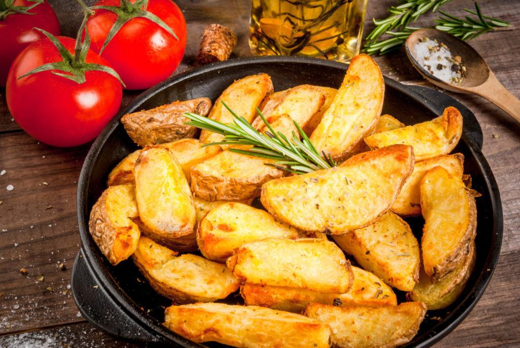 Вкусные рецепты картофеля по-деревенски