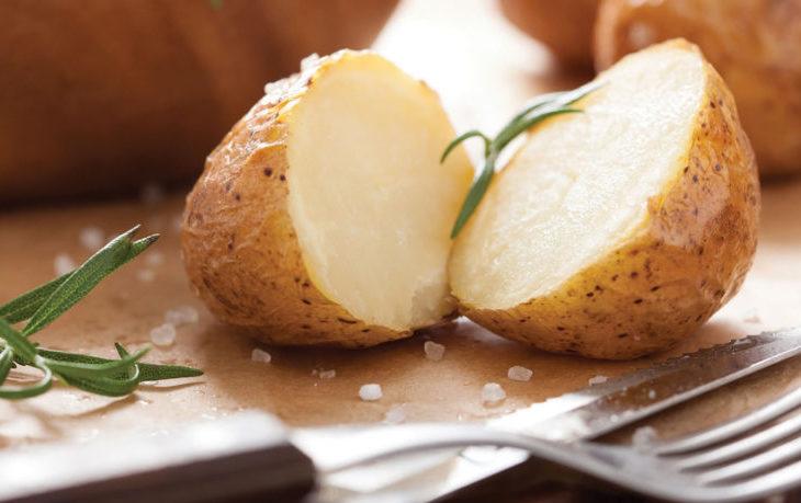 картофель в мундире калорийность