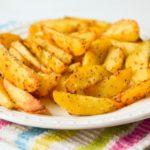 Запеченный картофель в мультиварке, дольками, в рукаве, в кожуре