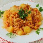 Вкусные рецепты картофеля с капустой