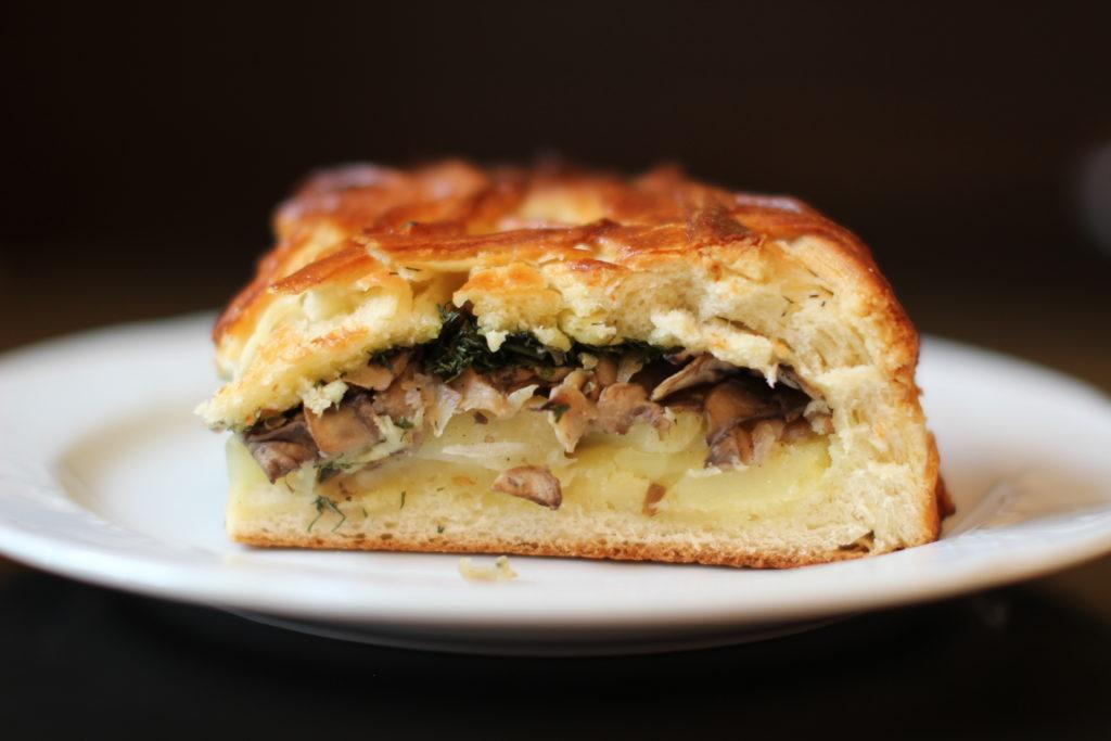 Классические рецепты пирога с картофелем