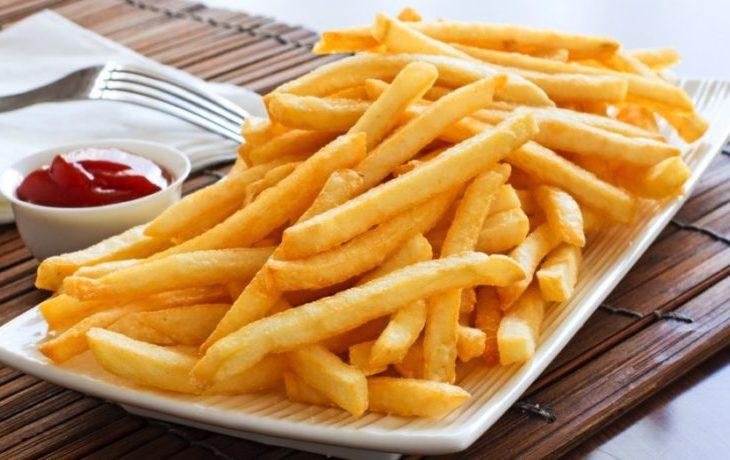 Картофель фри в духовке без масла, с маслом, приготовленный дома