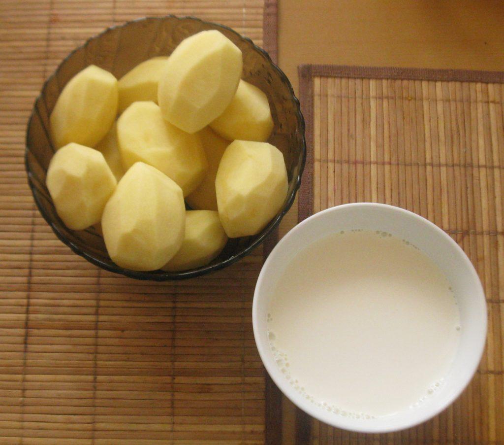 Рецепты приготовления картофеля со сметаной, сливками, соусом