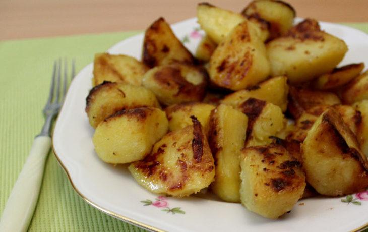 картофель в духовке с хрустящей корочкой рецепт