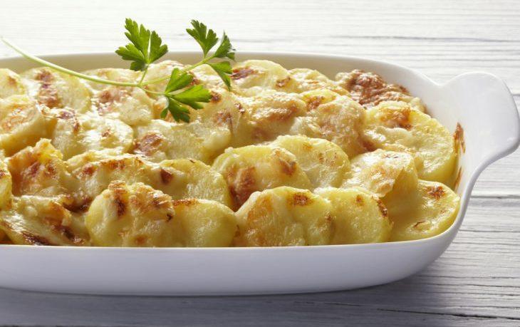 гратен из картофеля классический рецепт