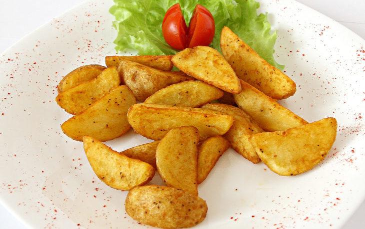 картофель по деревенски в духовке рецепт