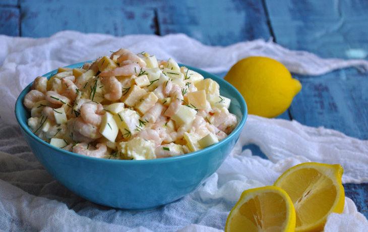 вкусный рецепт салата с ананасом и кукурузой