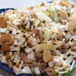 Рецепты салатов с курицей, кукурузой, шампиньонами и опятами