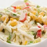 Рецепты салатов с кукурузой, крабовыми палочками, майонезом