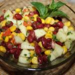 Рецепты салатов с кукурузой и красной, белой, зеленой фасолью