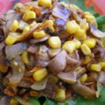 Рецепты салатов с грибами, кукурузой и морковью
