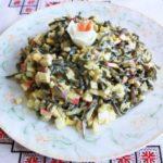 Рецепты салатов с морской капустой и кукурузой