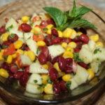 Рецепты салатов с кукурузой, помидорами и фасолью, капустой, перцем