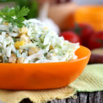 Рецепты салатов с кукурузой и сметаной, растительным маслом