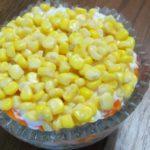 Рецепты салатов с кукурузой: мимоза, с айсбергом