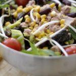 Рецепты салатов с кукурузой и говядиной, свининой