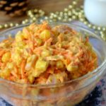 Вкусные рецепты салатов с морковью, колбасой, кукурузой