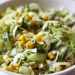 Рецепты легких салатов с кукурузой
