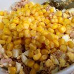 Рецепты салатов с консервами и кукурузой