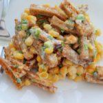 Рецепты салатов с кукурузой и сухариками