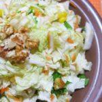 Рецепты салатов с кукурузой и пекинкой, листьями салата, горохом