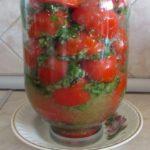 Вкусные рецепты помидоров с чесноком и укропом