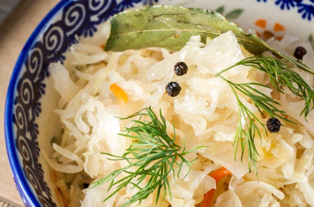 Вкусные рецепты с капустой и укропом