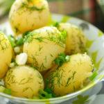 Вкусные рецепты картошки с укропом