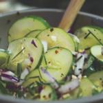 Рецепты салатов с луком и укропом
