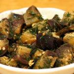 Рецепты картофеля, грибов, баклажанов с чесноком и укропом