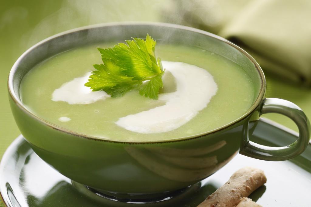 Рецепты супа пюре с сельдереем