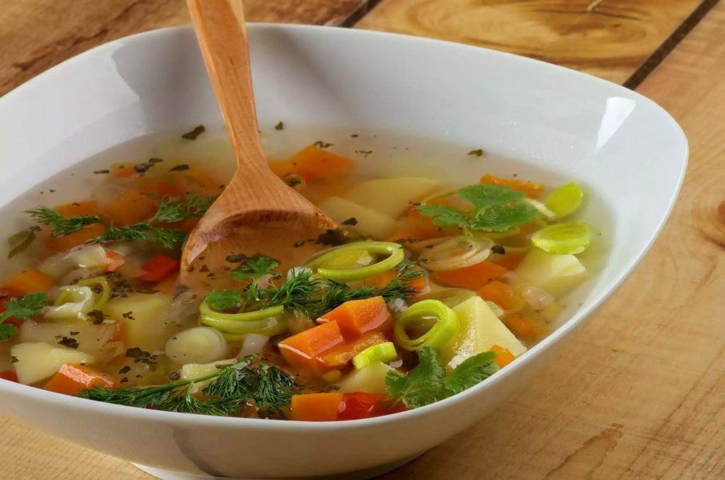 Рецепты диетического, жиросжигающего, постного супа с сельдереем