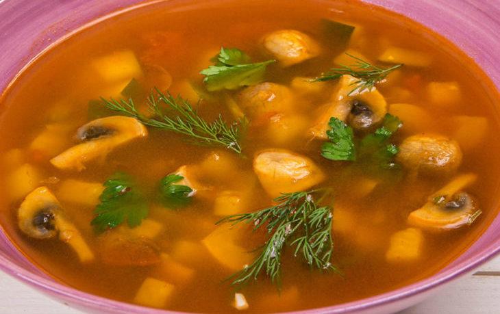 Рецепты грибного и рыбного супа с сельдереем