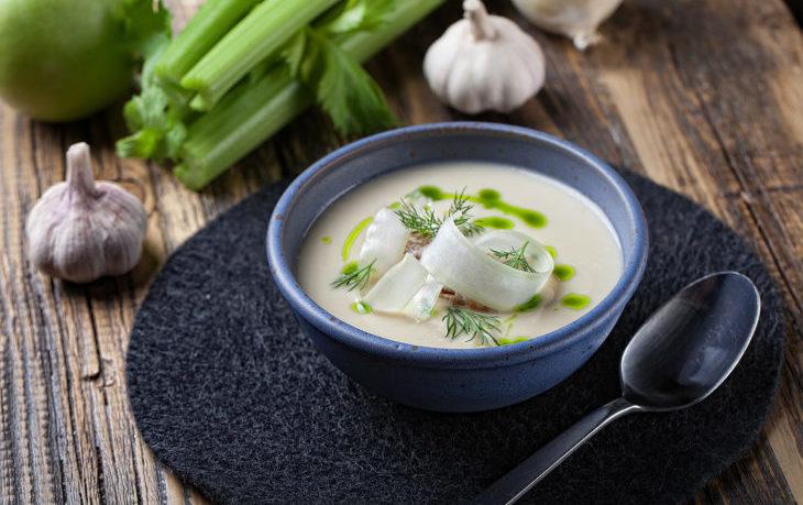 крем суп из сельдерея рецепт