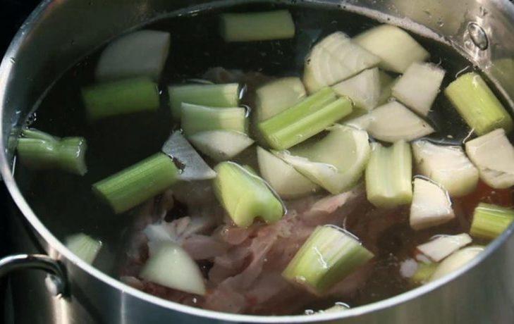 блюда из стеблей сельдерея рецепты