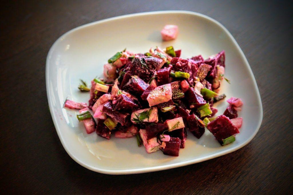 Рецепты с сельдереем и луком порей, зеленым горошком, свеклой