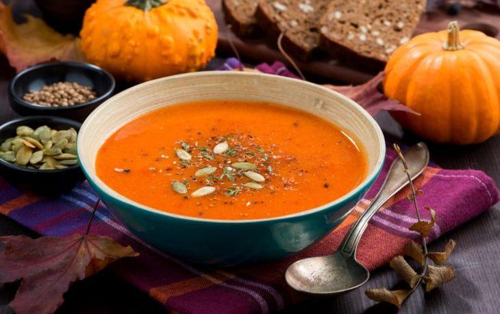 суп из тыквы быстро и вкусно