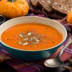 Рецепты супа из тыквы замороженной, с сыром, имбирем, креветками