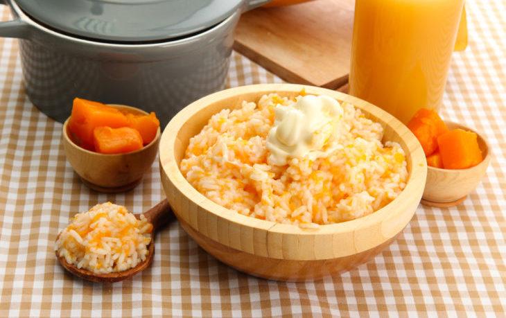 рисовая каша с тыквой рецепт
