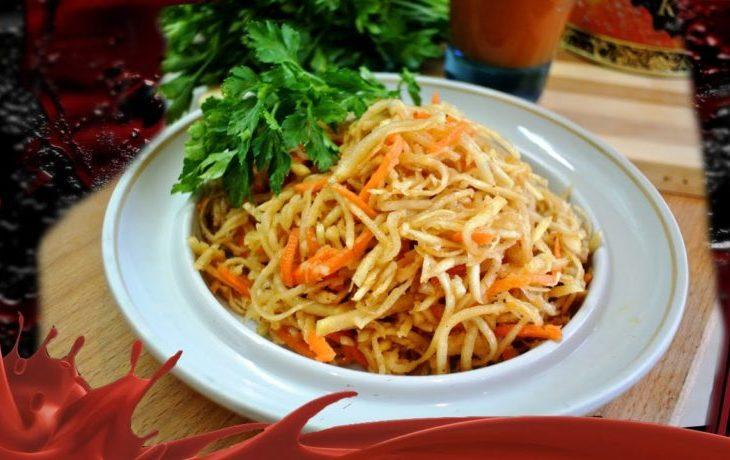 сельдерей по корейски рецепт