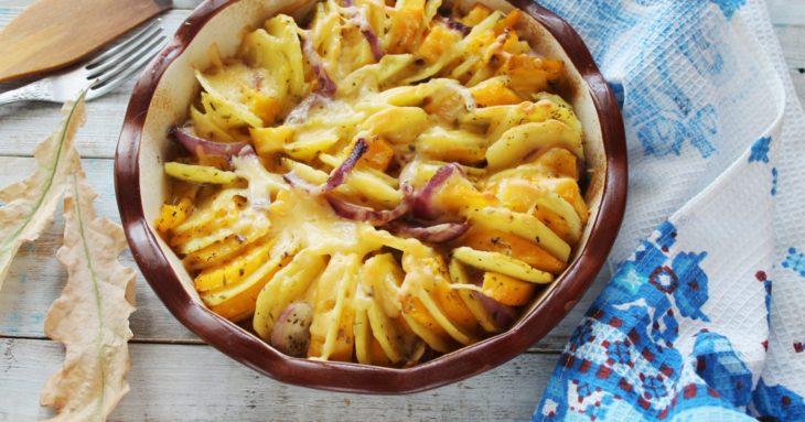 картошка с тыквой рецепт