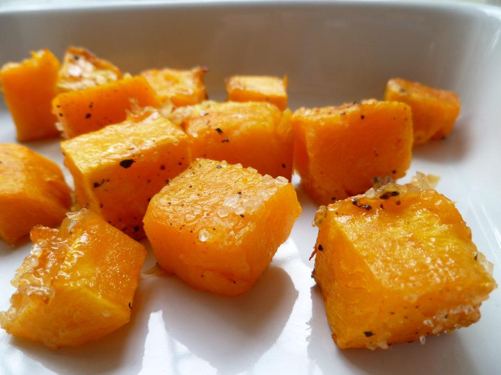 Рецепты тыквы в духовке кусочками с яблоками, медом, сахаром, корицей
