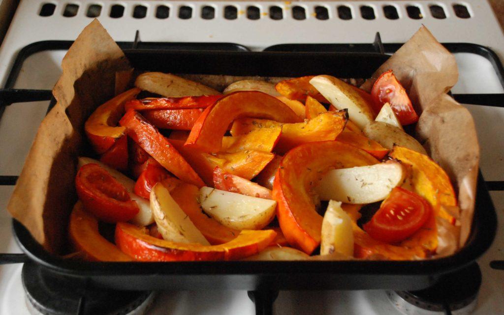 Рецепты запеченной в духовке тыквы с мясом, рисом, картошкой