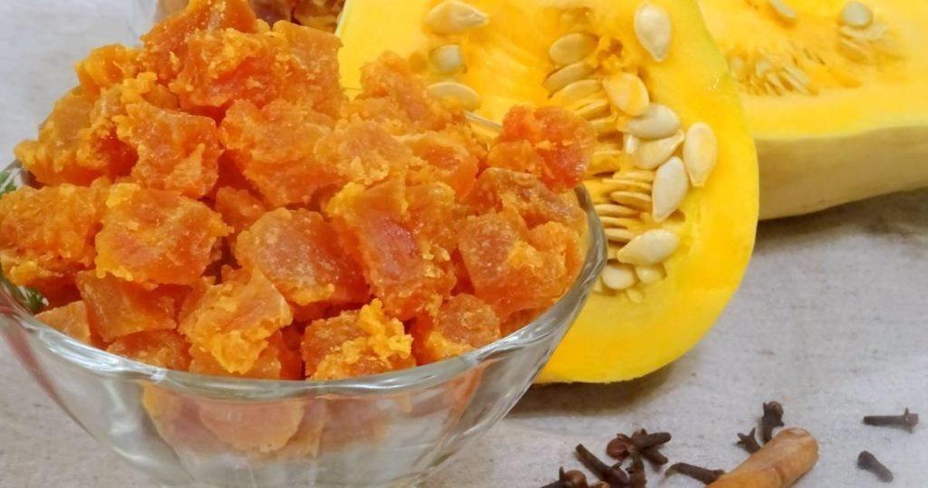 Быстрые и вкусные рецепты цукатов из тыквы