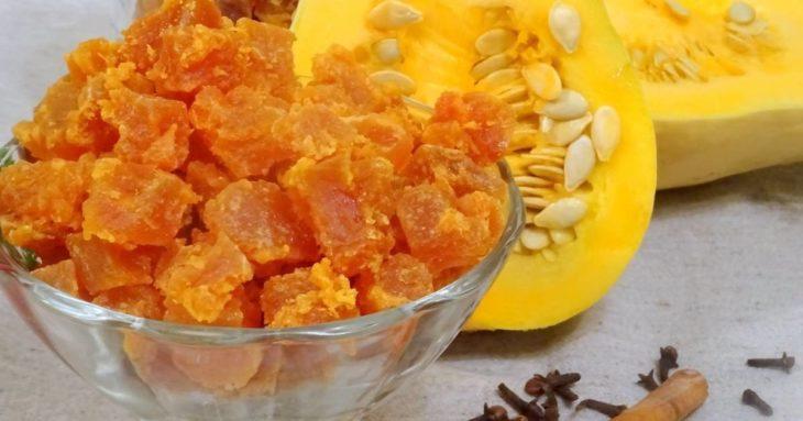 цукаты из тыквы в домашних условиях рецепт
