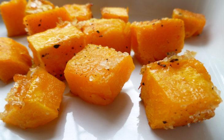 рецепт тыквы в духовке кусочками с медом